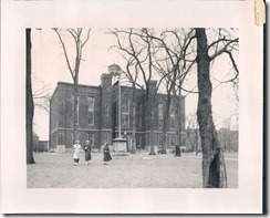 Old Main 1952 wire photo